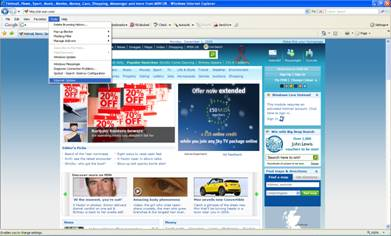 Change My Home Page In Internet Explorer