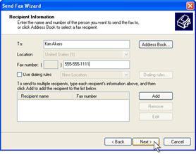 Fax wizard 2