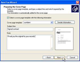 Fax wizard 3
